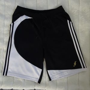 Men's Vintage Adidas 2007 Athletic Long Shorts L